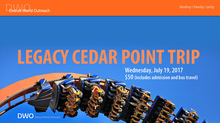 DWO Legacy Cedar Point Trip logo