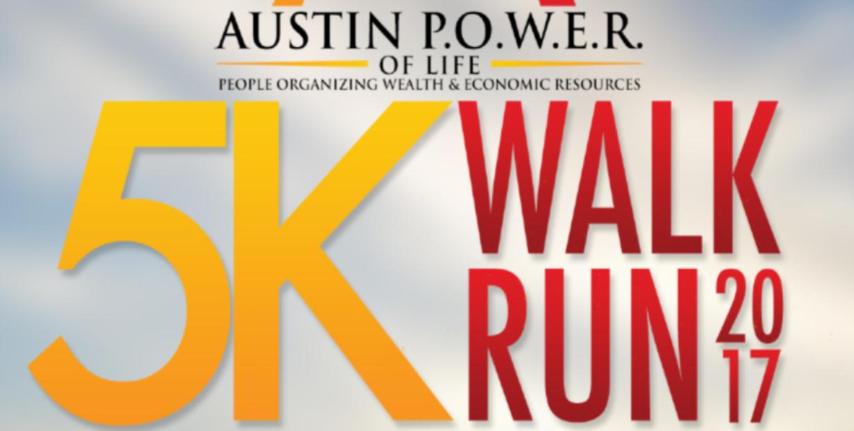 Austin Power 5K Walk/Run logo