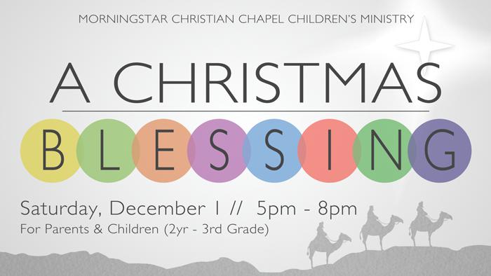 2018 A Christmas Blessing logo