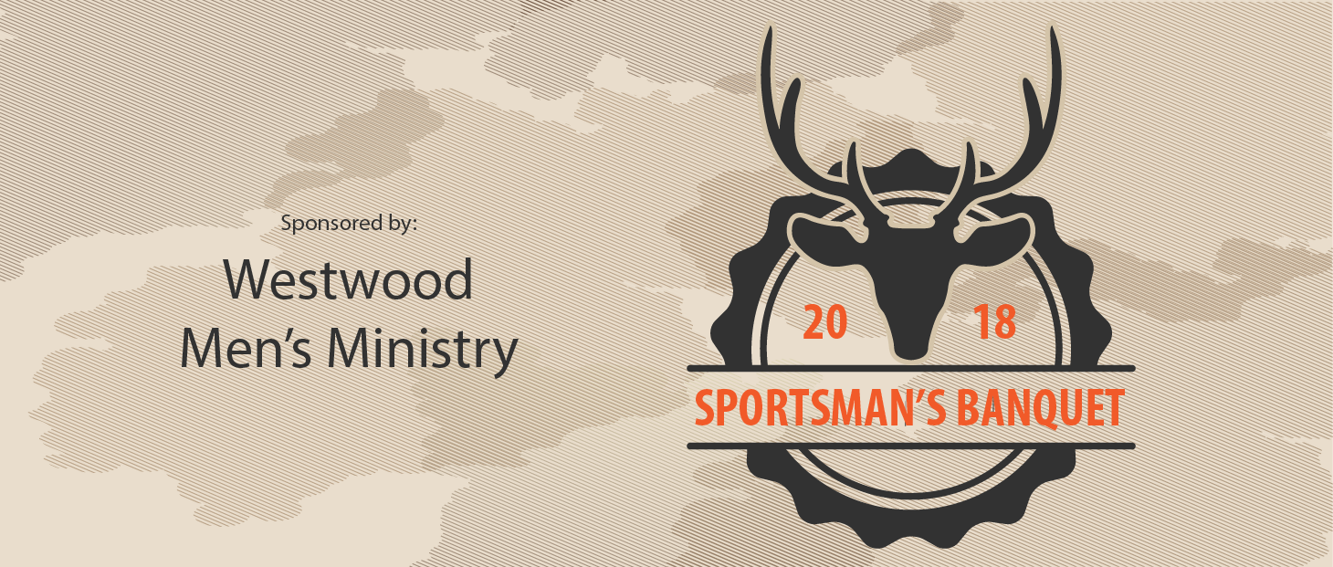 2018 Westwood Men's Ministry Sportsman's Banquet logo