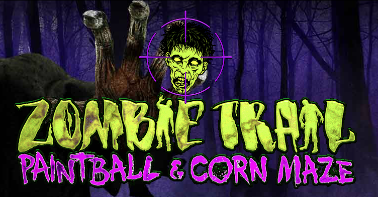 Zombie Trail Paintball & Corn Maze logo