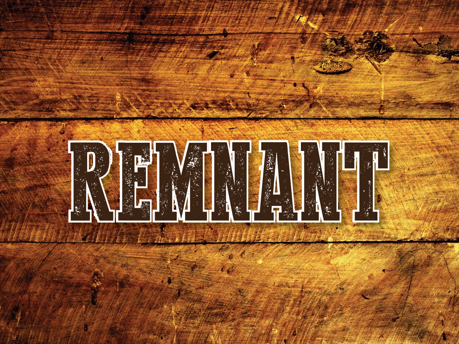 Remnant Young Adults Night in December logo