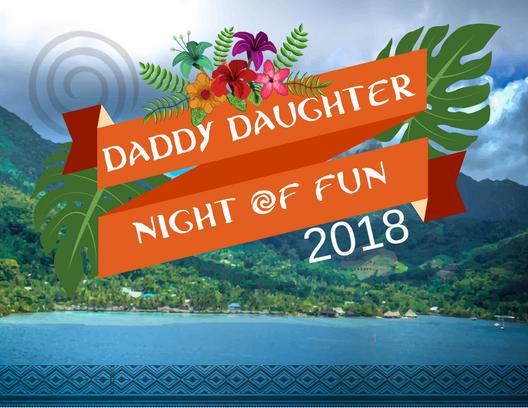 Daddy Daughter Night of Fun - LUAU logo