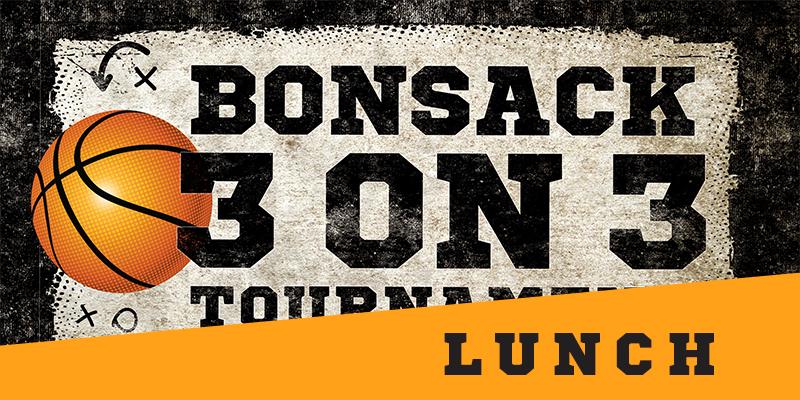 Bonsack 3 on 3 Lunch Pass logo