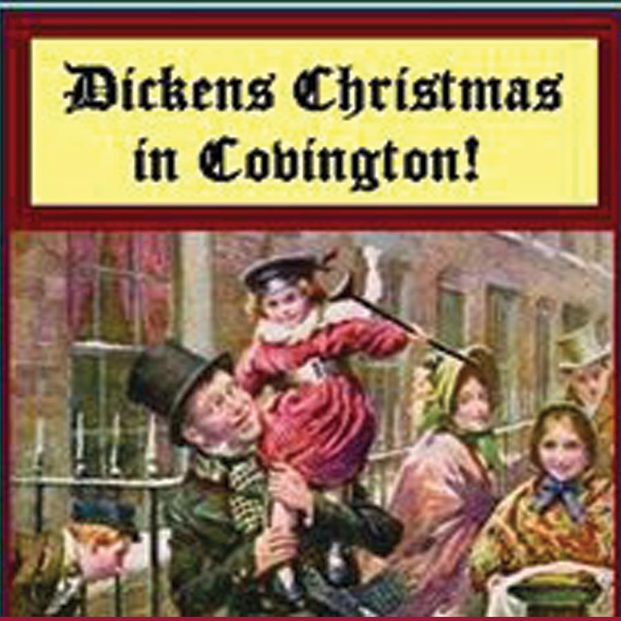 Dickens Christmas in Covington logo