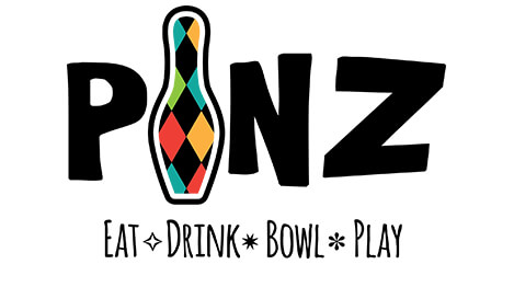 PINZ - Eat - Drink - Bowl - Play logo