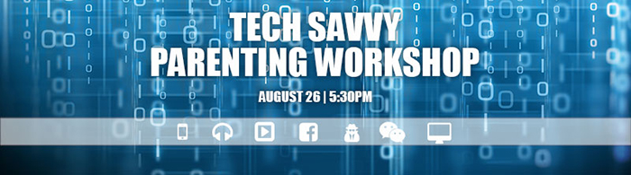 Tech Savvy Parenting Workshop logo