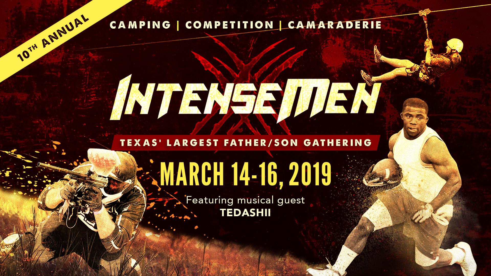 2019 INTENSE MEN logo
