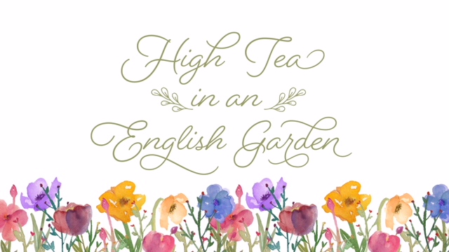 Women's High Tea 2018 logo
