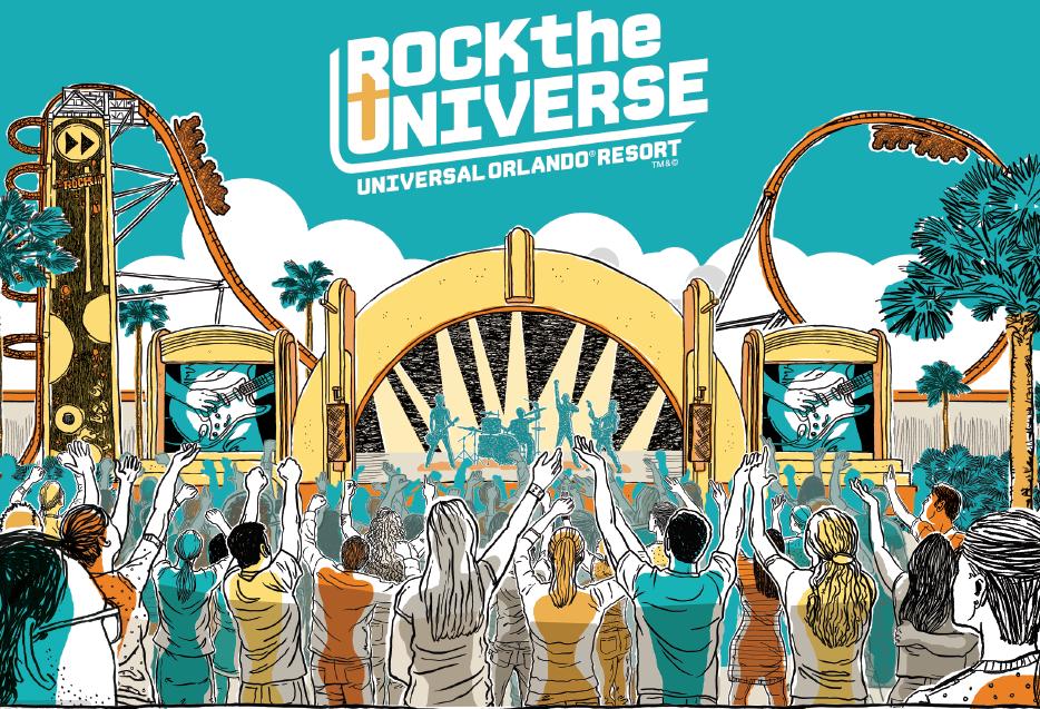 Rock the Universe 2017 logo