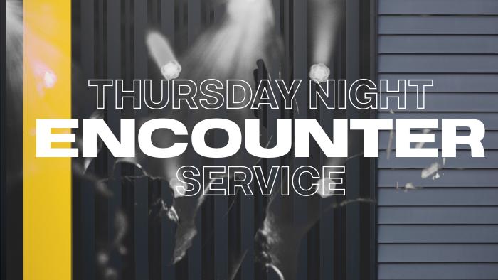 Thursday Encounter  Service Registration logo