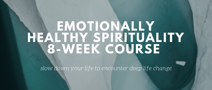 Emotionally Healthy Spirituality Winter–Spring 2019 logo