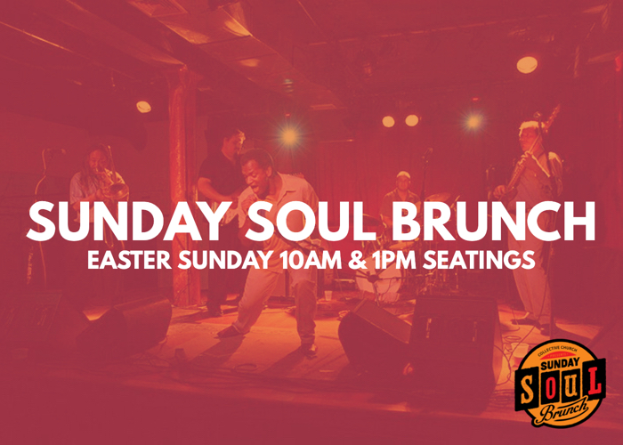 Sunday Soul Brunch | Easter 1PM logo