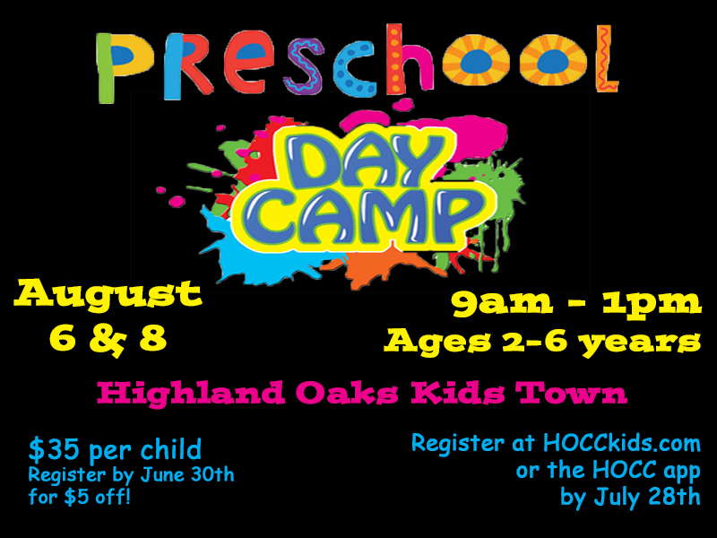 Preschool Day Camp 2019 logo
