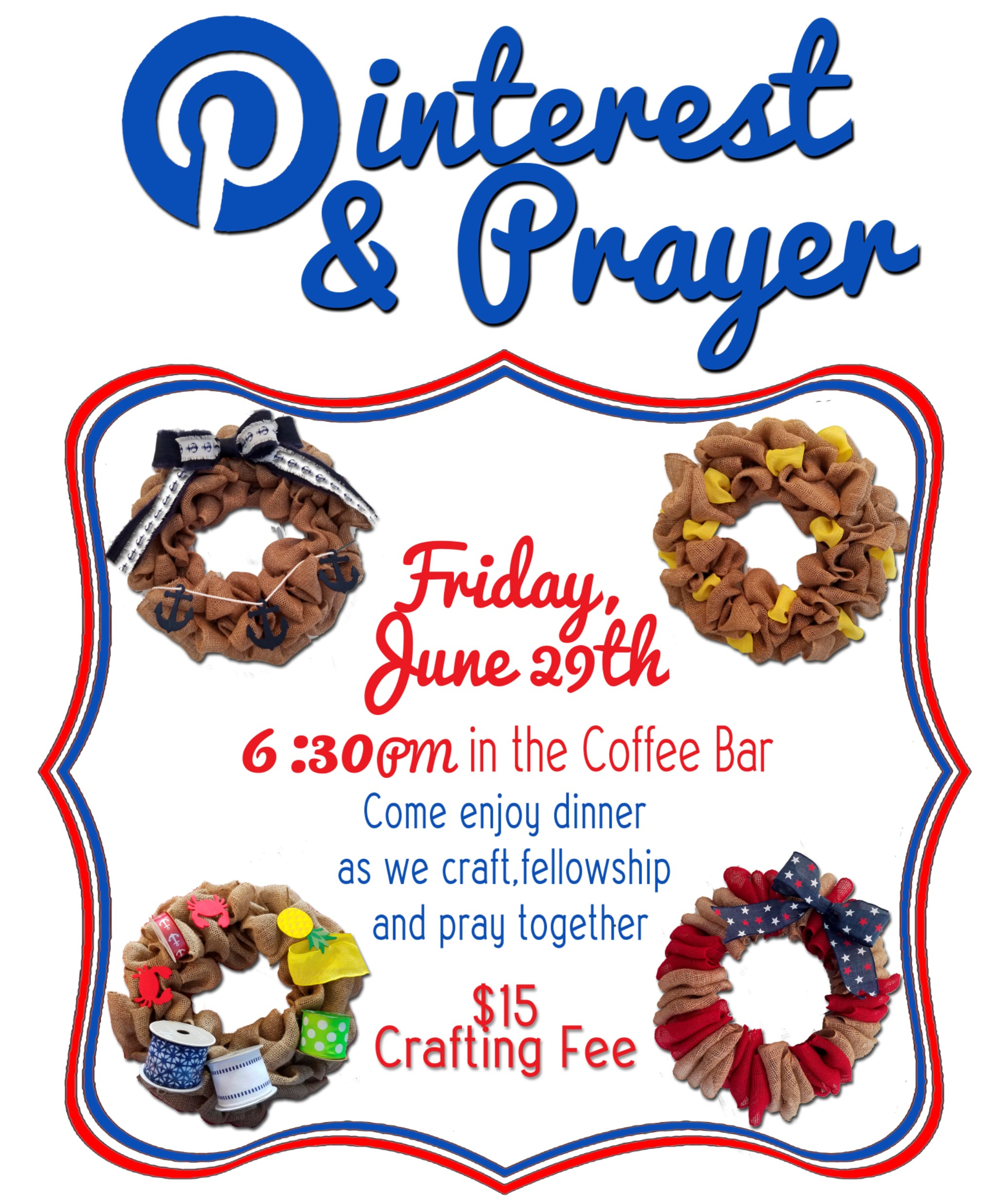June Pinterest and Prayer logo