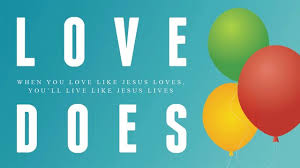 Love Does Small Groups logo