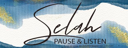 Selah (Pause & Listen) - Spring 2019 Semester logo