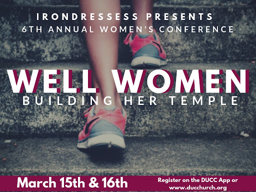 6th Annual IronDresses Women's Conference logo