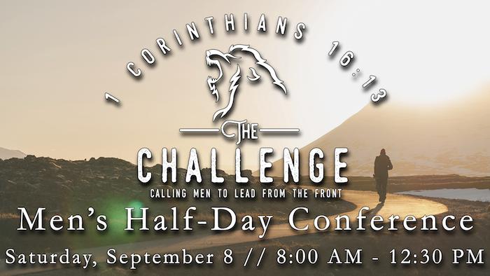 Men's 1/2 Day Conference logo