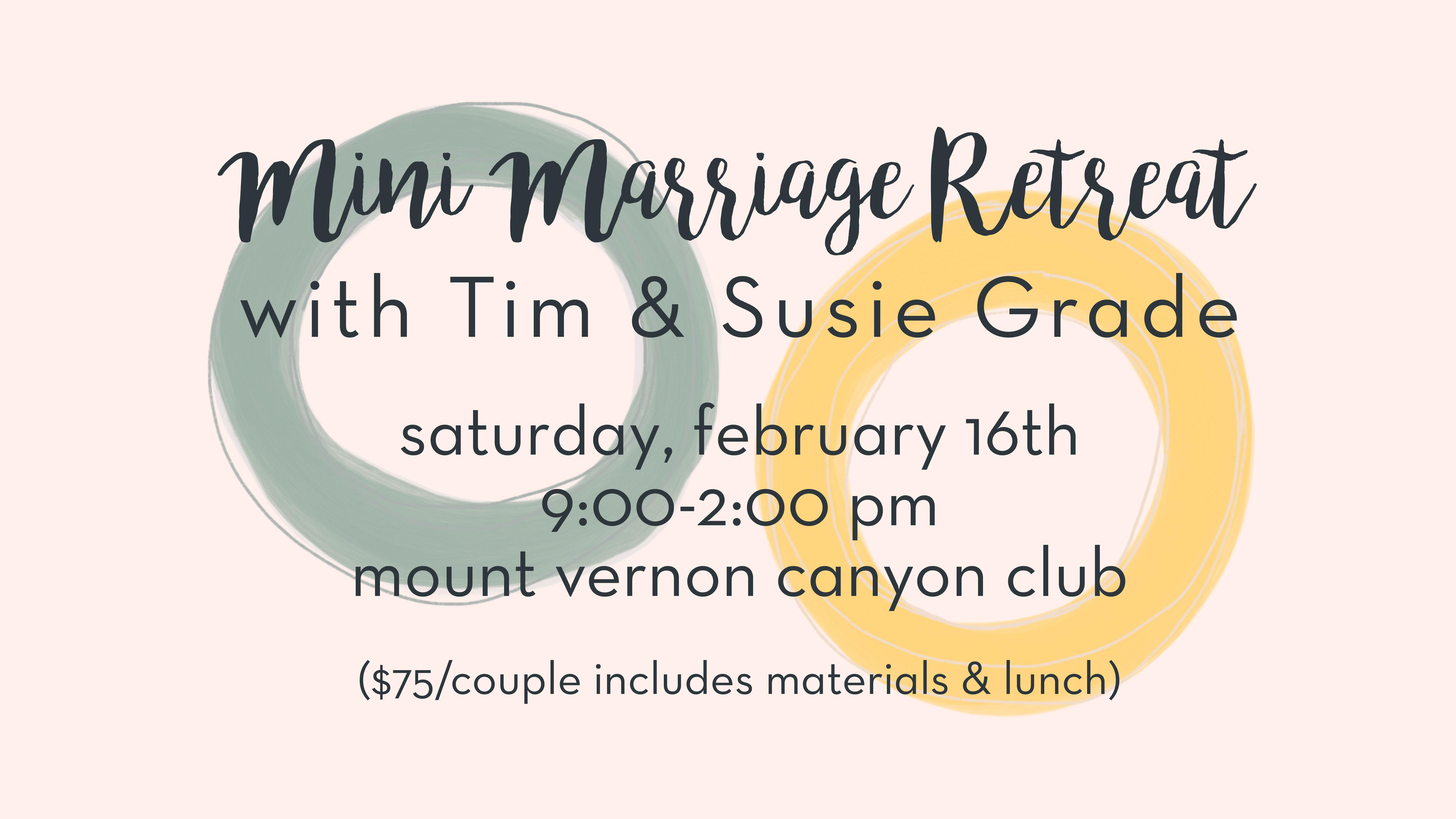 """PAIRS"" Mini-Marriage Retreat logo"