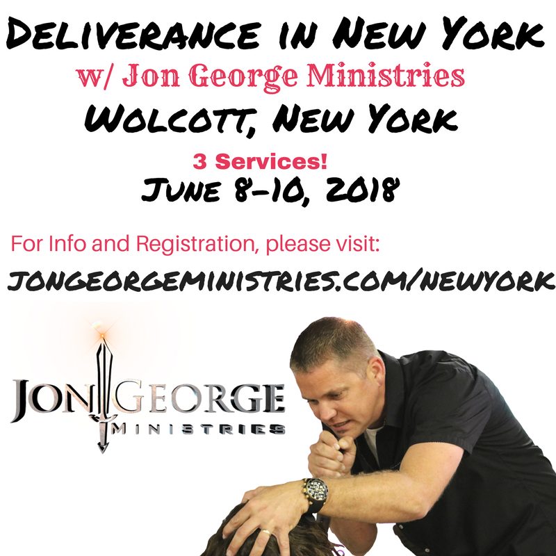 Deliverance in New York! logo