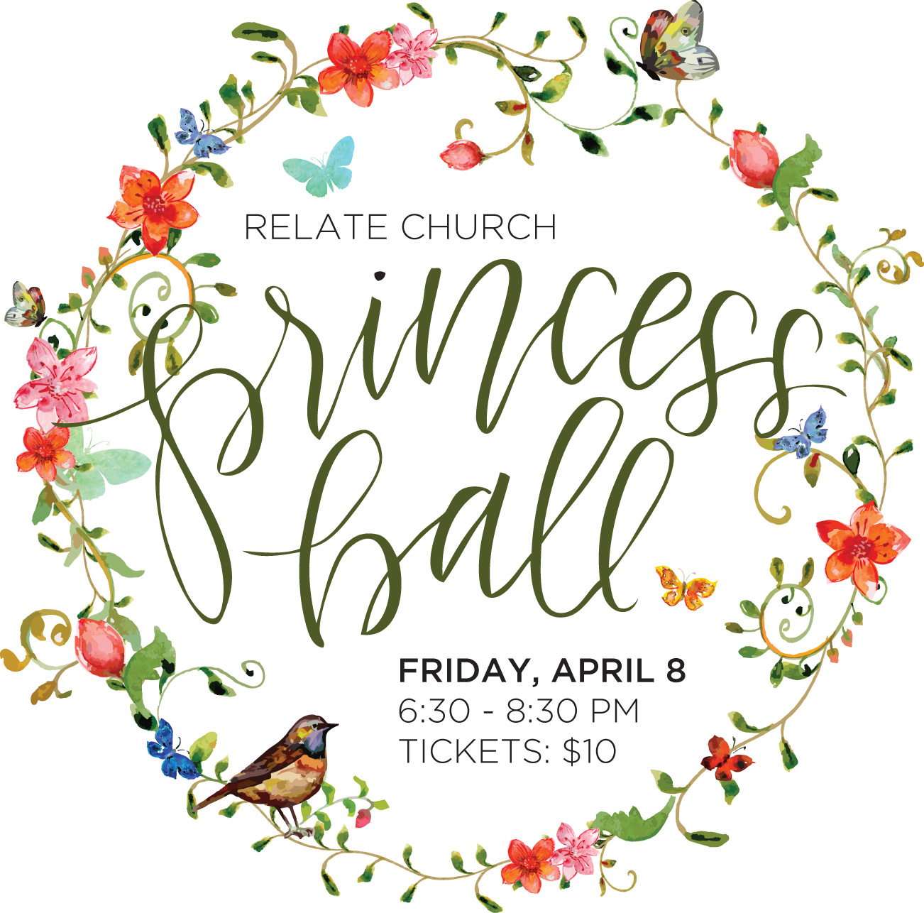 The Princess Ball logo