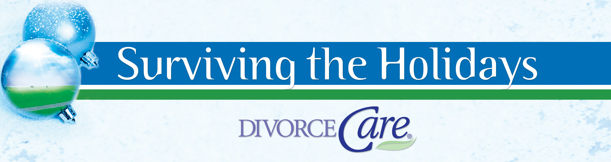 DivorceCare Surviving the Holidays logo