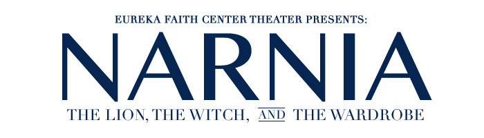 Faith Center Christmas Dessert Theater: Narnia logo