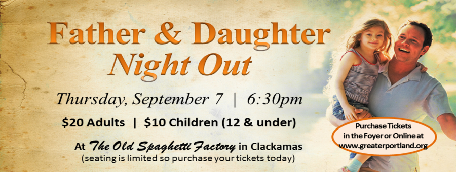 Father & Daughter Night Out logo