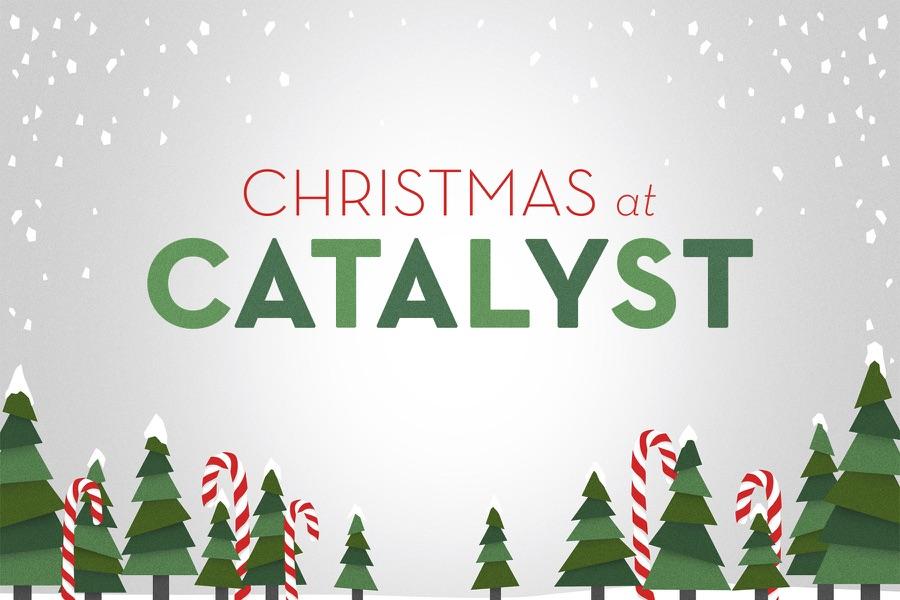 CHRISTMAS AT CATALYST logo