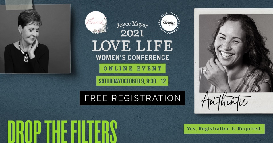 Flourish Event-2021 Love Life Women's Conference Live Stream Event logo