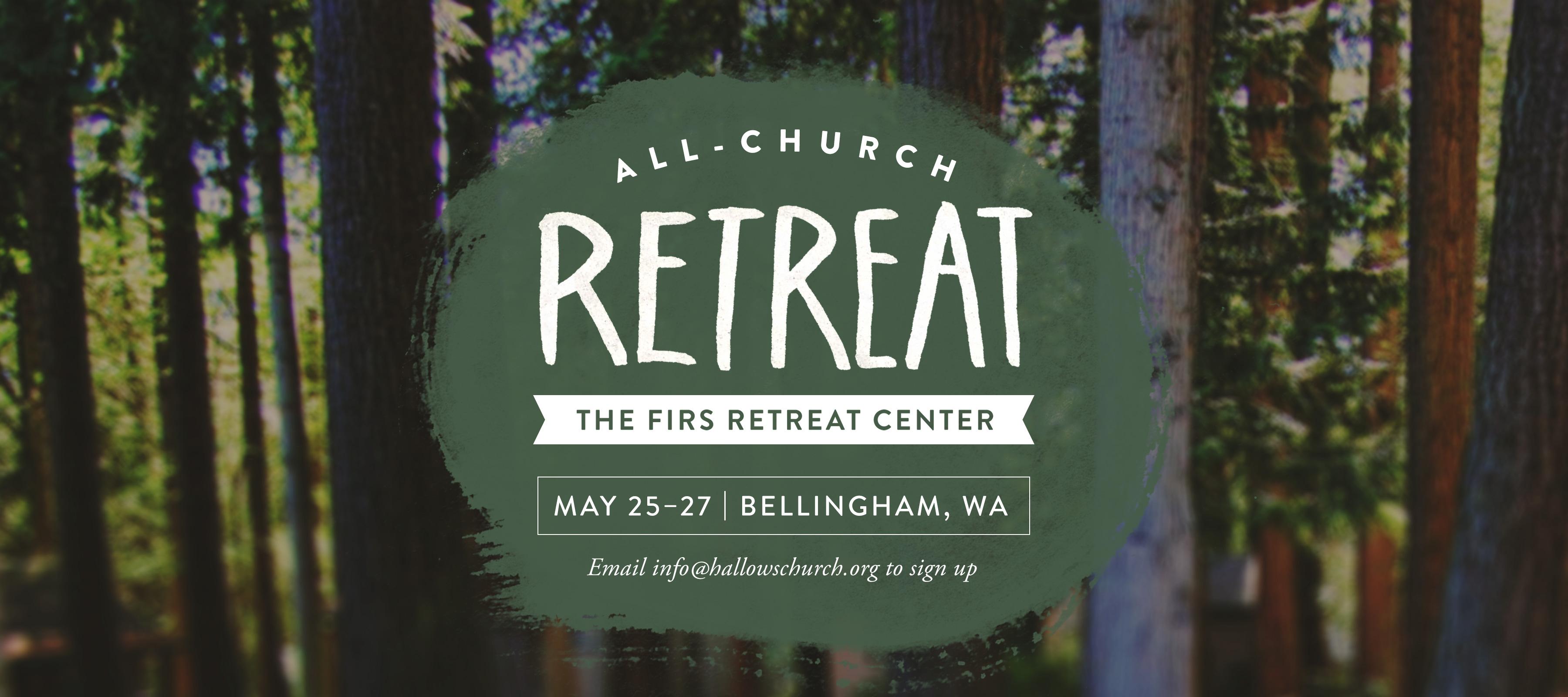 3rd Annual Hallows All-Church Retreat logo