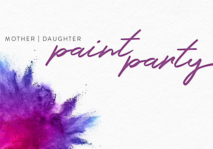 Mother/Daughter Paint Party logo
