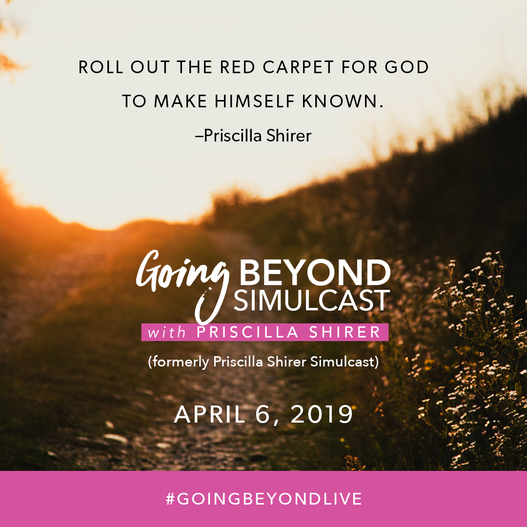 Going Beyond Simulcast with Priscilla Shirer logo