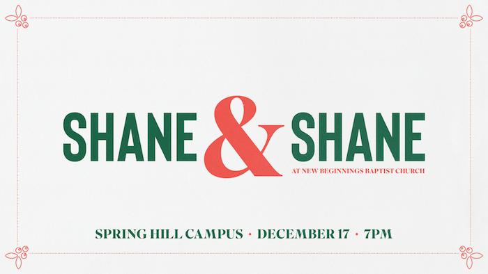 Christmas with Shane and Shane logo