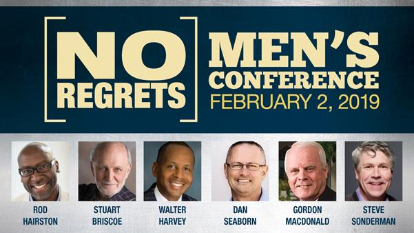 2019 Men's No Regrets logo