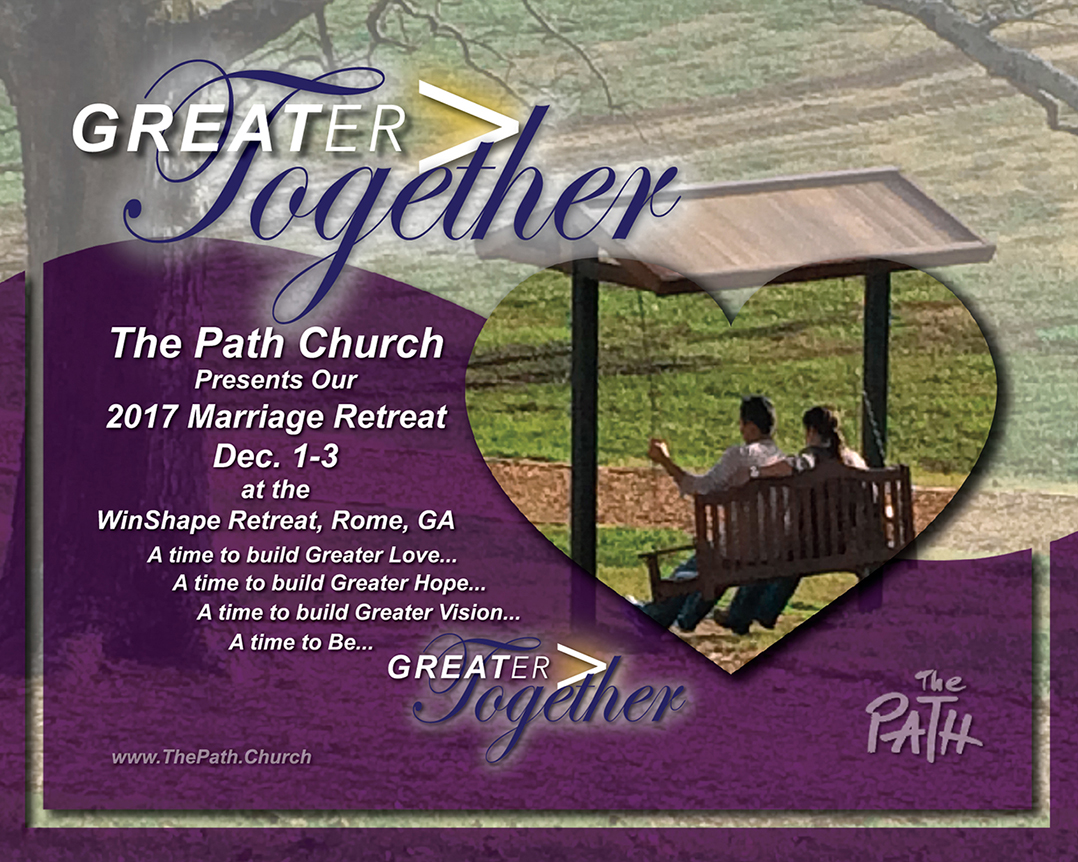 Greater Together - The Path Marriage Retreat logo