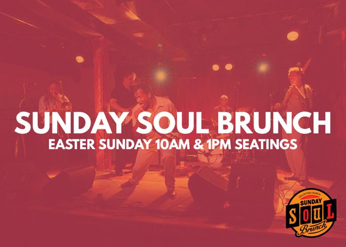 Sunday Soul Brunch   Easter 10AM logo