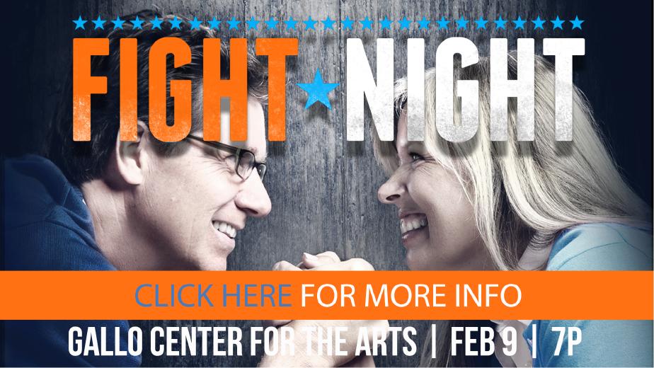 Fight Night Date Night logo
