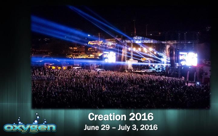 Oxygen Creation 2016 logo