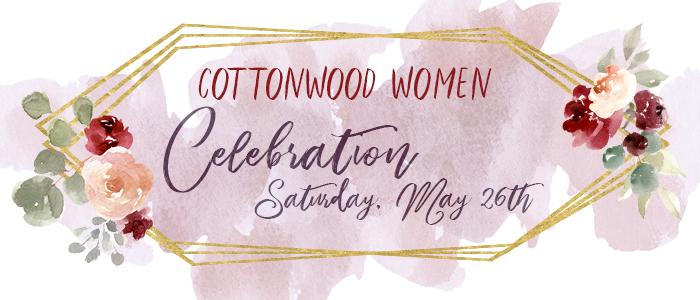 Cottonwood Women Celebration logo