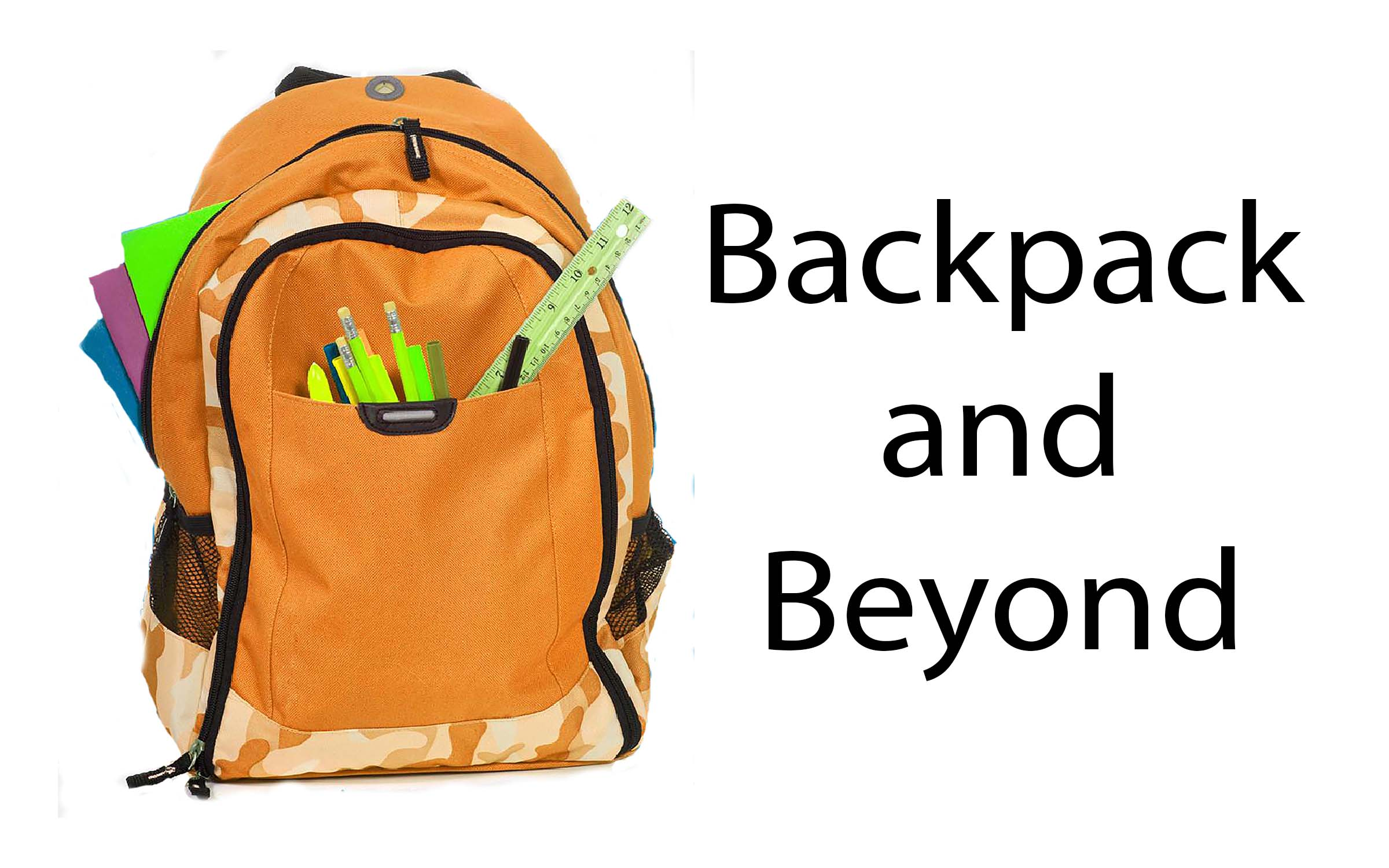 Volunteer Signup for Backpack and Beyond 2019 - Clean-up logo