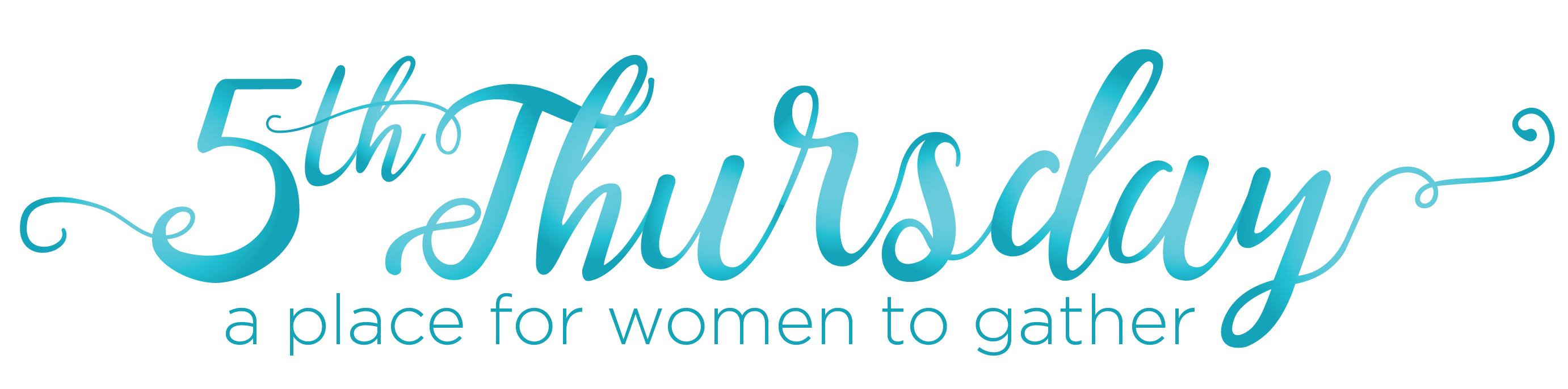 Fifth Thursday: A Gathering for Women May 2019 logo