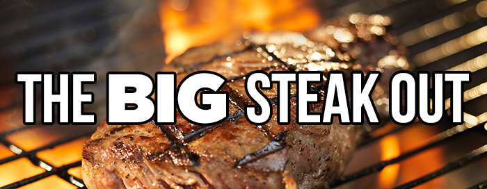 The Big Steak Out logo