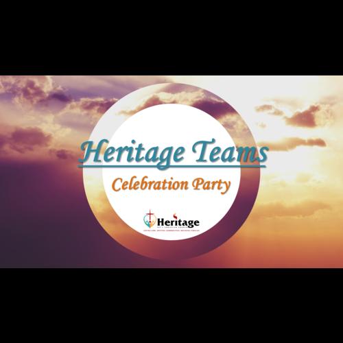 Heritage Teams Appreciation Celebration logo